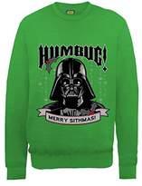 Star Wars Men's Christmas Darth Vader Humbug Sweatshirt