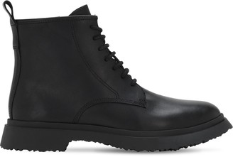 Camper Full Leather Lace-Up Boots