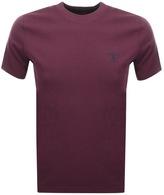 Barbour Standards T Shirt Burgundy