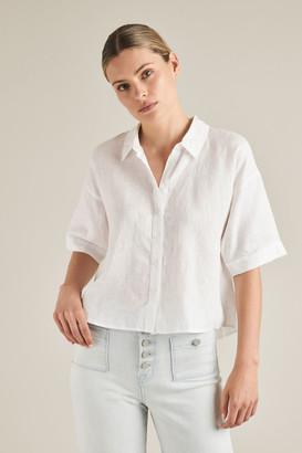 Seed Heritage Short Sleeve Linen Shirt