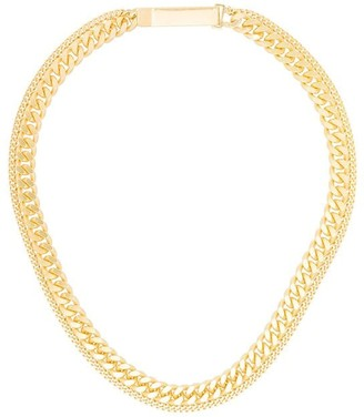 Saskia Diez Grand ID double necklace