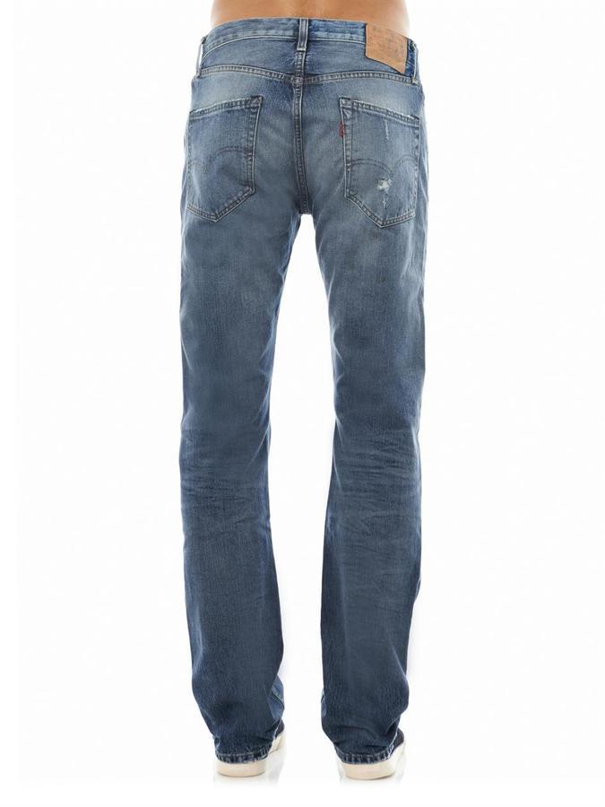Levi's Vintage 1967 505 McNutt straight-leg jeans