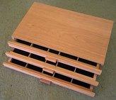 Art Alternatives 3 Drawer Wood Pastel Storage Box 15-3/4 x 9-5/8 x 3-1/8 inches