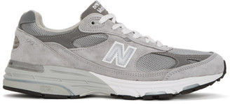 New Balance Grey Made In US 993 Sneakers