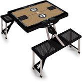 Picnic Time Brooklyn Nets Portable Folding Picnic Table