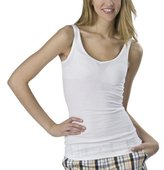Juniors' Mossimo Supply Co. Reversible Long & Lean Tank - True White