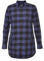 Royal Robbins Women's Jackson Plaid Flannel Tunic Shirt