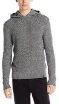 Calvin Klein Men's Marled Textured Hoodie Sweater