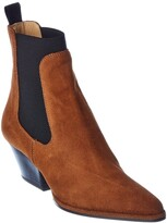 Thumbnail for your product : Sergio Rossi Carla Suede Ankle Boot