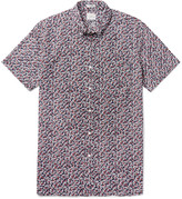 J.crew - Button-down Collar Floral-print Cotton Shirt