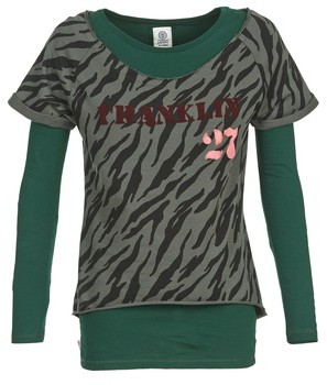 Franklin & Marshall Franklin Marshall OAKELO women's Sweatshirt in Green
