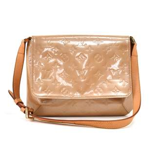 Louis Vuitton Thompson Beige Patent leather Handbags