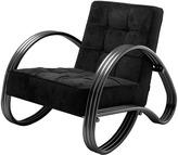 Eichholtz Domani Chair Panama Black - Bronze