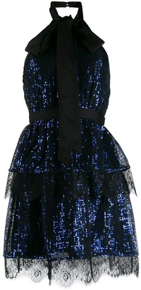 Self-Portrait sequin dress