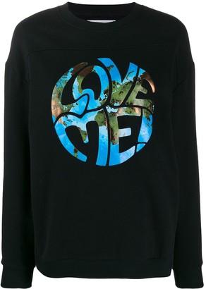 Alberta Ferretti Love Me sweatshirt
