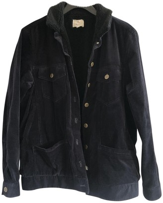 Pablo Navy Cotton Jacket for Women