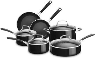 KitchenAid Kitchen Aid 10-pc. Aluminum Nonstick Cookware Set KC2AS10OB
