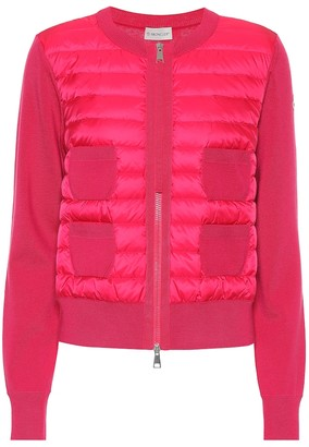 Moncler Wool down jacket