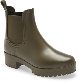 Jeffrey Campbell Cloudy Waterproof Chelsea Rain Boot
