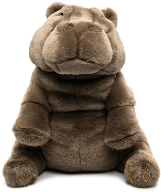 La Pelucherie Hippo Edgard soft toy