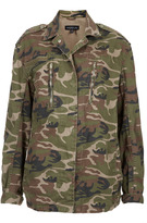 Camo Tall Army Jacket