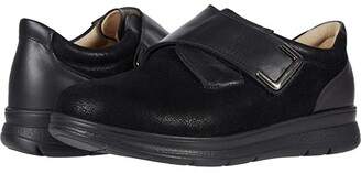 Finn Comfort Neiva (Schwarz Balena Stretch/Nappaseda) Women's Walking Shoes