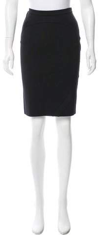 Givenchy Ribbed Pencil Skirt w/ Tags