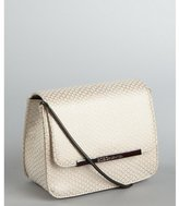 BCBGeneration gold snake embossed faux leather 'Rayna' shoulder bag