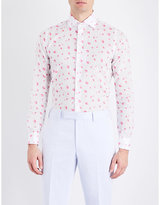 Richard James Contemporary-fit Floral-print Cotton Shirt