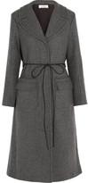 Nina Ricci Belted Wool-Blend Twill Coat