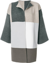 Le Tricot Perugia checked cardigan