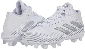 adidas Freak Mid 20 (Footwear White/Silver Metallic/Footwear White) Men's Shoes