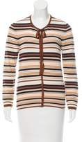 Missoni Wool-Blend Striped Cardigan