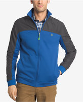 Izod Men's Colorblocked Zip Jacket