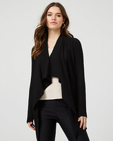 Le Château Knit Waterfall Open-Front Cardigan