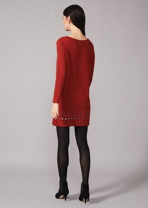 Phase Eight Selika Stud Hem Dress