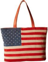 Scully Rockin America Tote Bag Tote Handbags
