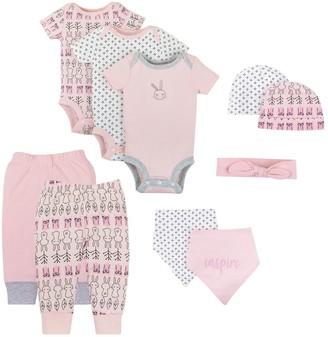Lamaze Baby Girl Organic 10-piece Set
