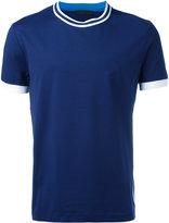 Prada stripe trim T-shirt