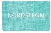 Nordstrom Woven Gift Card $1000