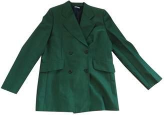 Miu Miu Green Wool Jacket for Women