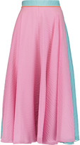 Roksanda Heddan silk-blend midi skirt