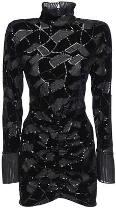 Rotate by Birger Christensen Miki Sequined Mini Dress