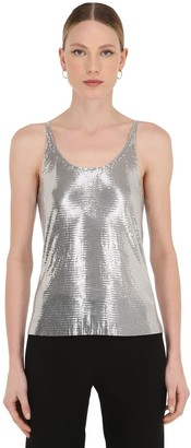 Paco Rabanne Metallic Mesh Top