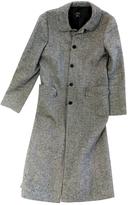 BCBGMAXAZRIA Grey Polyester Coat