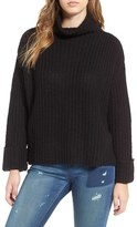 Leith Women's Chunky Turtleneck Sweater
