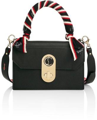 Christian Louboutin Elisa Ribbon-Trimmed Leather Top Handle Bag