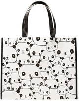 Forever 21 FOREVER 21+ Panda Print Eco Tote