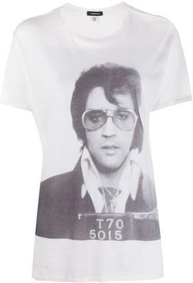 R 13 Boy Elvis T-70-print T-shirt