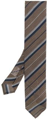 Lardini Diagonal Stripe Woven Tie